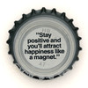 fi-02826 - Stay positive and you'll attract happiness like a magnet.